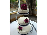 'S' Shaped 3 Tier Wedding Cake Stand