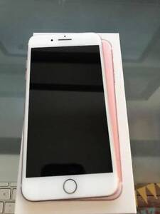 iPhone 7 Plus Rose Gold Like New in Box 128GB 10/10 Condition