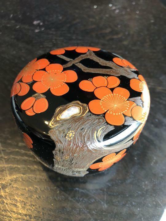 Natsume Tea Caddy Ceremony Container for Tea Powder Sado Traditional Japan E-13