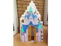 Disney frozen ice palace castle