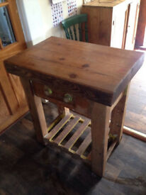 Vintage Butchers Block