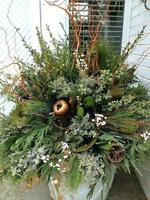 CUSTOM CHRISTMAS URNS