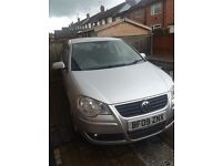 Very low milage VW Polo 1.4 hatchback