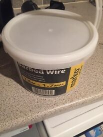 Barbed wire brand new 15m roll