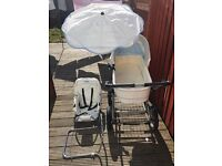 BabyStyle Lux 3 in 1 pram