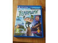 Tearaway Ps Vita. Like new..