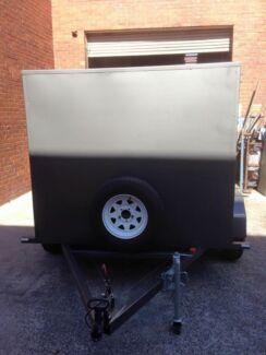 8x5 enclosed trailer