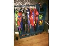 childrens dressing up racks