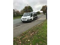 Ford transit 62plate recovery truck