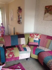 DFS SHOUT COLLECTION PATCHWORK SOFA