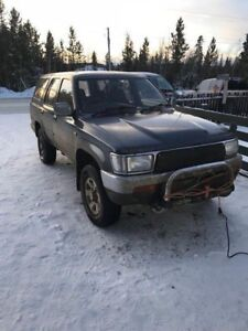 1992 Toyota Hilux (rare-right hand drive)