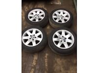 Genuine BMW 3 Series Set of alloy wheels