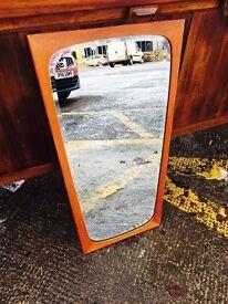 Gorgeous Mid Century Teak Mirror