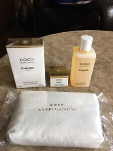 NEW Chanel CoCo Mademoiselle Parfume, Gel, Cream - 6 Items!!!!