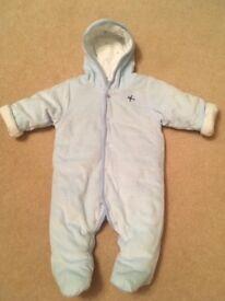 Baby Boys Snowsuit - 0-3 months