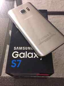 Unlocked Galaxy S7 titanium silver 32gb for trade to iphone
