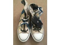 Genuine Batman Converse, adult size 8
