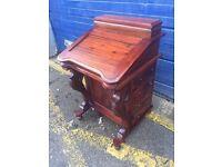 Beautiful Vintage Reproduction Davenport Desk