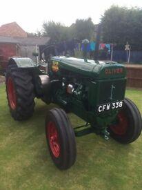 1945 Oliver 80 Standard Vintage Tractor