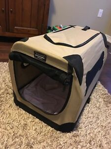 Small soft sided dog crate/carrier