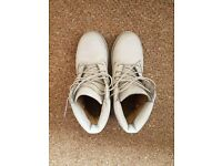 Timberlands- Grey- UK Size 4