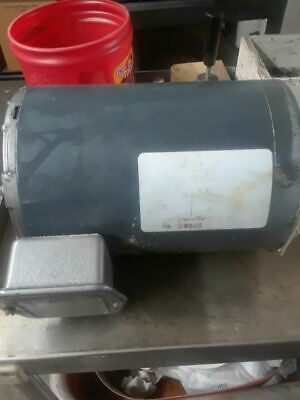 Hobart 3 Hp Motor W Gears - Fits Meat Saw 5801 Or 6801