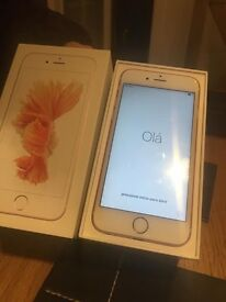 Iphone6S 16 GB Rose Gold unlocked n immaculate condition