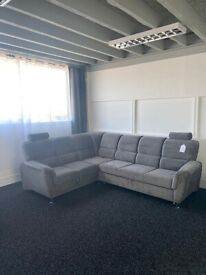 SOFA SALE - Brand New Sofa Bed - Grey Fabric