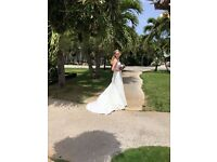 Designer Phillipa Grace Wedding Dress Size 8/10 Rrp Was £1800