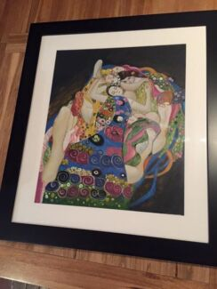Reproduction Augustuv Klimt oil painting, professionally framed  Everton Park Brisbane North West Preview