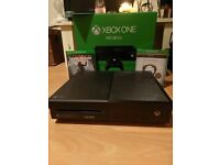 Xbox 500GB used once with 2 games Tomb Raider and Elder Scrolls(Brand new) 1 month xbox gold live