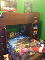 Bunkbed and dresser