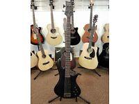 Shecter Stilleto Studio 4 Electric Bass Guitar - SeeThru Black Satin Finish