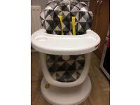 Cosetta 360 swivel high chair