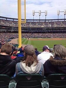 Detroit Tigers vs Indians Thurs. May 4th @ 1:10pm plus BONUS!!