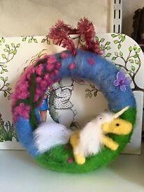 Handmade gifts .. unicorns, dragons, ducks and pigs ..