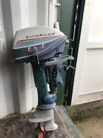 Evinrude 6hp 2 stroke engine