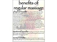 Perfect massage for discounted price £30 ph