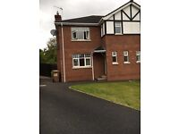 Beautiful 3 bedroom house for rent dollingstown £650 a must see