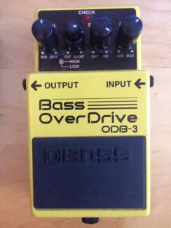 ODB-3 Overdrive Bass Pedal Woollahra Eastern Suburbs Preview