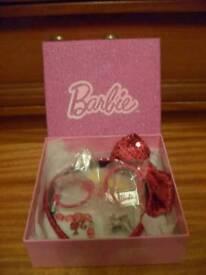 Barbie jewellery gift set