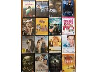 16 different teen DVD's