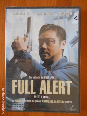 DVD FULL ALERT - ALERTA TOTAL - RINGO LAM - NUEVA, PRECINTADA...