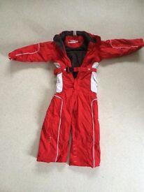Boys girls ski suit age 4-5