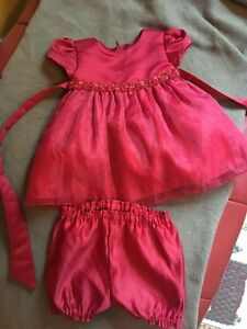 Brand new baby girl dress size 9 months