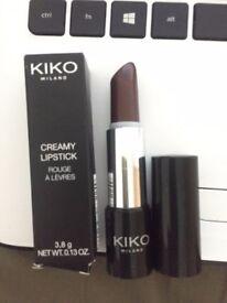 Kiko Milano Creamy Lipstick Shade 05 Amaranth Red