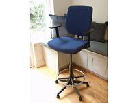 Ergonomic Draughtsman Chair