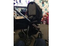 Disney Mini Mouse pram travel system