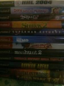 PS2 Games Lot
