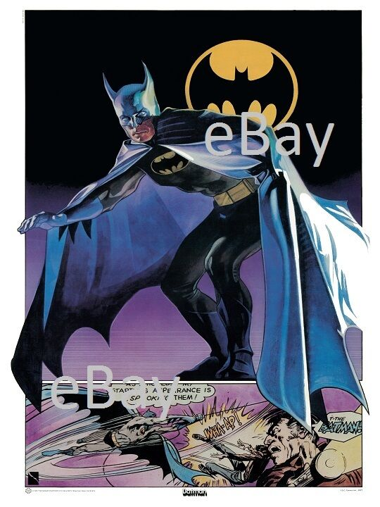 BATMAN POSTER Thought Factory 1977